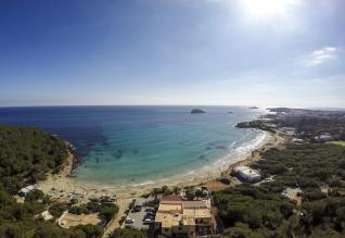 Cala Nova from the above