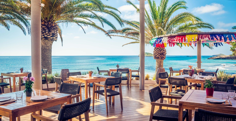 Aiyanna Ibiza beach side restaurant